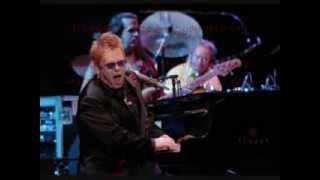 Saturday Night's Alright For Fighting   Elton John Lyrics on screen