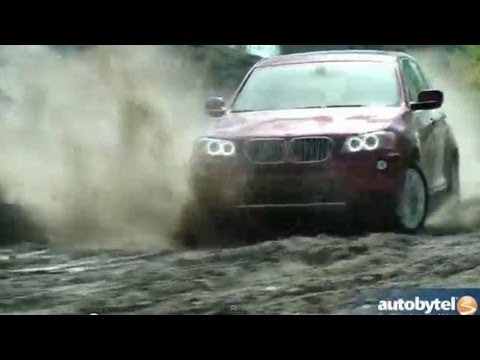 2013 BMW X3 xDrive28i Off-Road Video Review