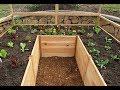 Comment construire un jardin potager en bois en forme de U- jardin potag...