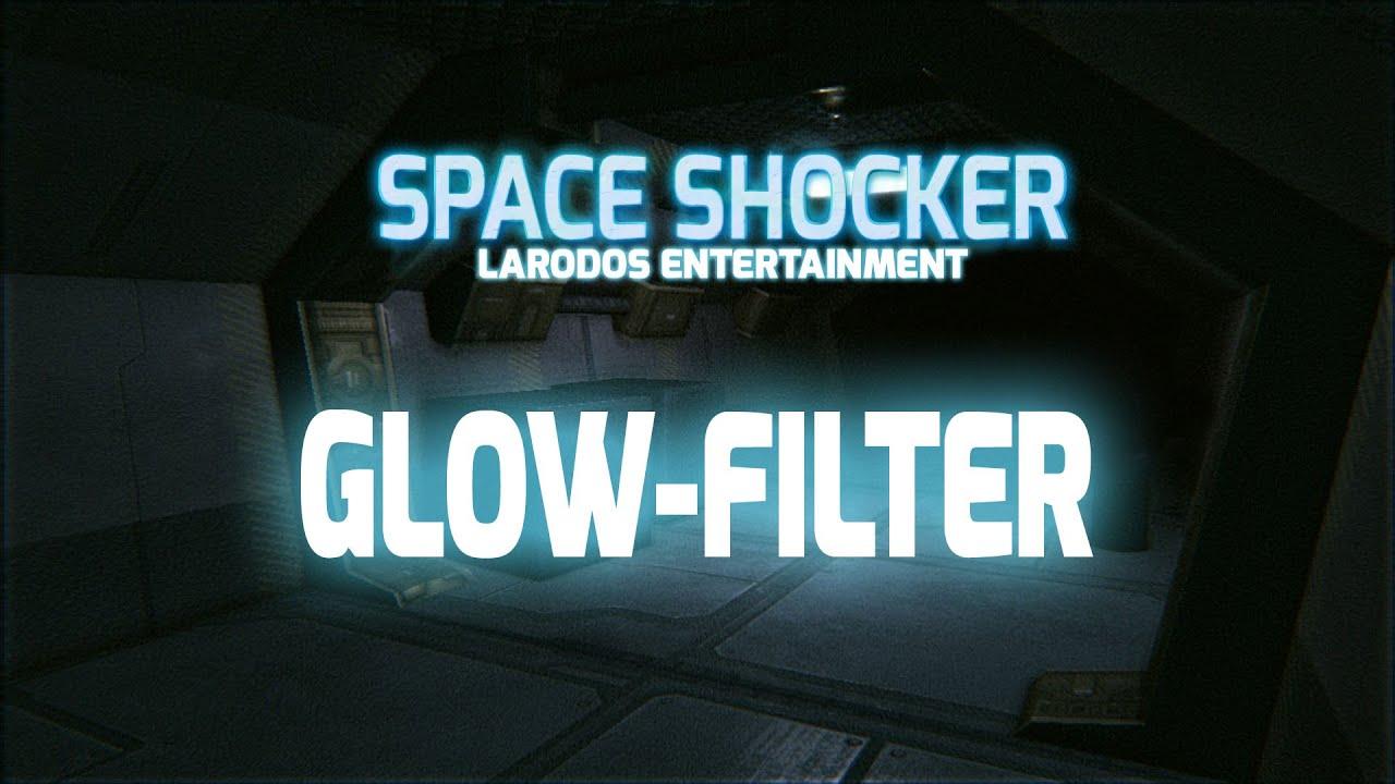 Glow-Filter aus Space Shocker V2 - Blender 3D Game Engine Tutorial