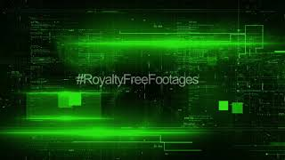Hi tech motion background loop | futuristic sci fi motion graphics | technology background video