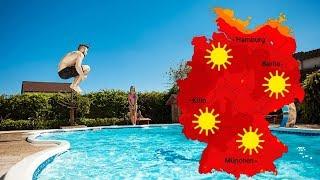 Wetter - Am Montag Sonnig Und Heiß (23.06.2019)