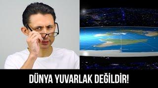 Dünya yuvarlak değildir!