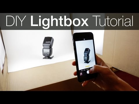 DIY Light Box Photography Tutorial – How to make a Lightbox