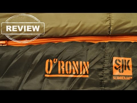 Slumberjack Ronin 0º – REVIEW (sleeping bag)