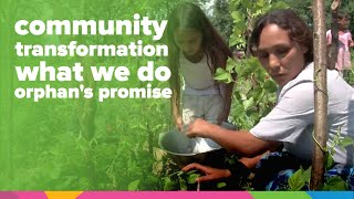 Community Transformation | What We Do | Orphan's Promise | Kholo.pk