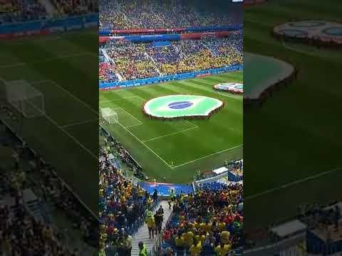 Mãe da Fome o enviado do Jornal Agora é Sério na Copa da Russia 2018 no Jogo Brasil 2 x 0 Costa Rica