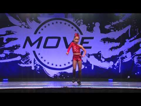 Natalie's Tap Solo - (The Dance Spot Eastlake) Boogie Shoes 2017