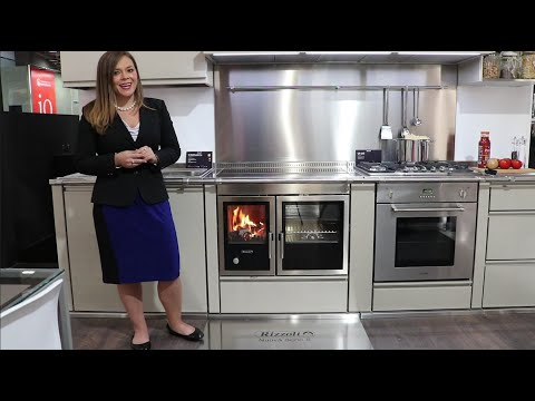 Rizzoli - S90 Wood Cook Stove and CP165 Gas Range