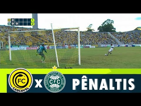 Disputa De Pênaltis | Cascavel X Coritiba | Semifinal 1° Turno Do Paranaense 2019 | RPC TV 60fps