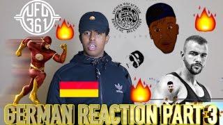 FIRST REACTION TO GERMAN RAP/HIP HOP PART 3!