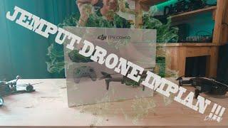 UNBOXING DRONE IMPIAN !!! DJI FPV DRONE COMBO INDONESIA