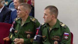 Военная полиция Новосибирского гарнизона отмечает 100-летие со дня образования