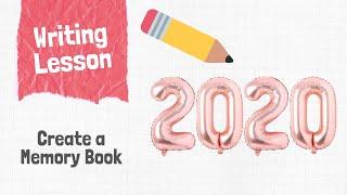 Kindergarten Memory Book Writing