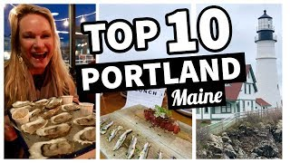 Tour Of Portland, Maine: Top 10 Portland Maine Things To Do And See ✔️