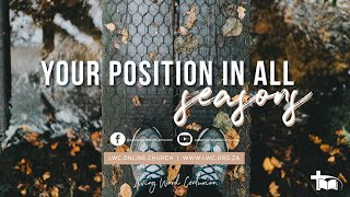 Your position in all seasons