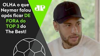 Neymar ironiza após ser preterido e ver Messi e CR7 na final do The Best! Veja o que ele falou