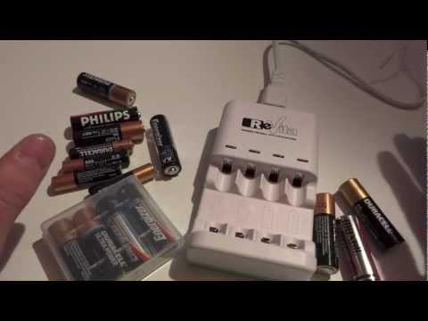 """Revita, il caricabatterie che rigenera le normali batterie alkaline """"usa e getta"""" da 1.5V!"""