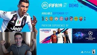 A APARUT FIFA 19 DEMO PE PS4, XBOX ONE SI PC !!! FIFA 19 ROMANIA LIVE !!!
