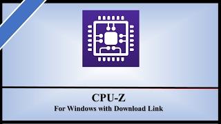 cpu-z download - मुफ्त ऑनलाइन वीडियो