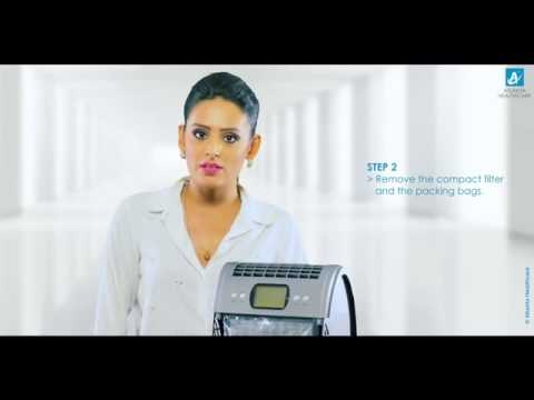 Atlanta Healthcare air purifiers - ALFA - 351 - Installation Guide