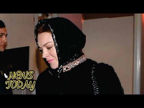Lindsay Lohan Buka Suara Soal Kabar Dirinya Jadi Mualaf
