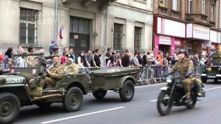 preview picture of video 'Slavnosti svobody 2012 - Konvoj svobody - Plzeň - Liberation Festival - Convoy of Liberty - Pilsen'