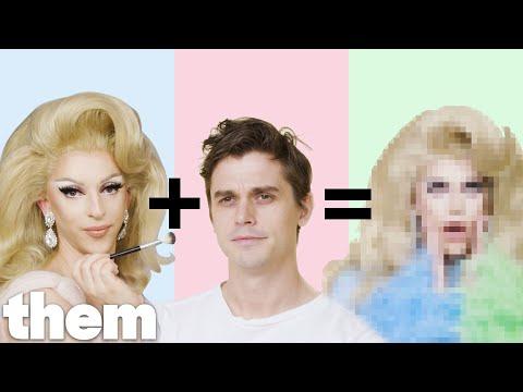 Antoni Porowski Gets a Drag Makeover from Miz Cracker | Drag Me | them.