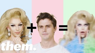 Antoni Porowski Gets a Drag Makeover from Miz Cracker | Drag Me | them.