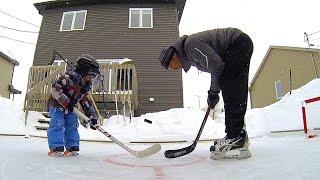 GoPro: Backyard Hockey
