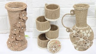 5 Jute Craft Ideas | Jewelry Storage Box And Home Decorating Ideas
