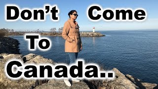 Don't Come To CANADA If.. | Canada Couple