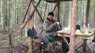Смотреть онлайн Охота на глухаря весной в России