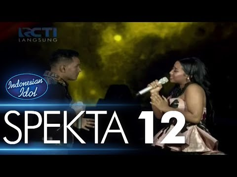MARIA Ft. JUDIKA - JIKALAU KAU CINTA (Judika) - Spekta Show Top 4 - Indonesian Idol 2018 - Indonesian Idol