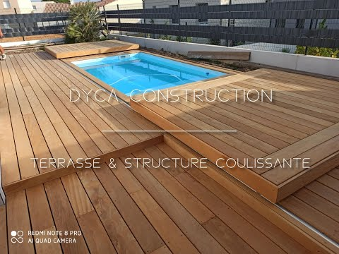 Projet N°1 - Terrasse & Structure Coulissante