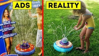Ads Vs. Reality   Where Kids Dreams Are Crushed