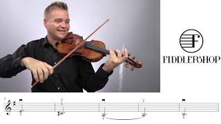Amazing Grace Fiddlershop Group Project Tutorial - Violin 4