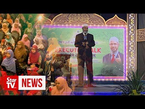 What did Dr Zakir Naik say in Kelantan?