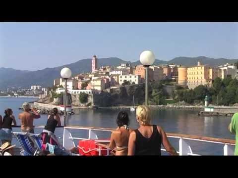Met Moby Lines van Bastia naar Genua - Vertrek uit Bastia, 26 juli 2012