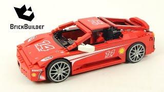 Lego Racers 8143 Ferrari F430 Challenge 1:17 - Lego Speed Build