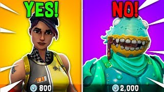 10 SKINS That Are BETTER Than LEGENDARYS... (Cheap skins that are insane!)