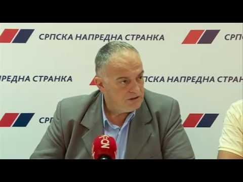 Konferencija za novinare GrO SNS Smederevo