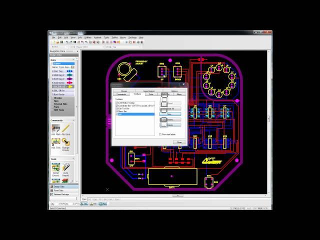 CAM350 Basics Mouse control and GUI