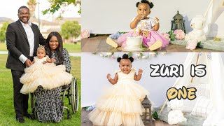 Babys First Birthday: Photoshoot And Year 1 Montage