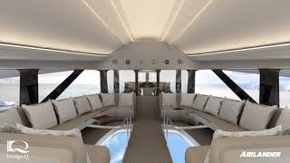 Farnborough International Airshow: Airlander 10 Luxury Cabin Launch