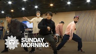 "BTS Rehearses Choreography Of ""Boy With Luv"""