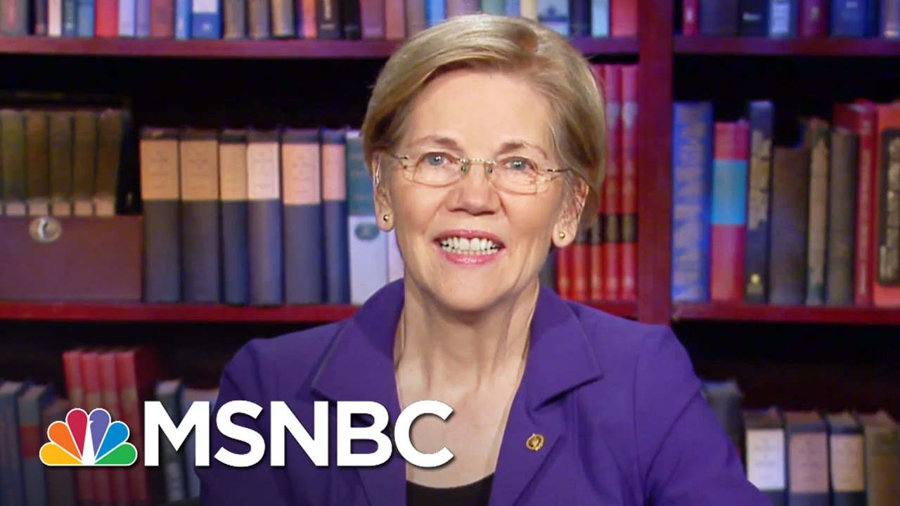 Elizabeth Warren On Republicans And Donald Trump's 'Nonsense' | All In | MSNBC thumbnail