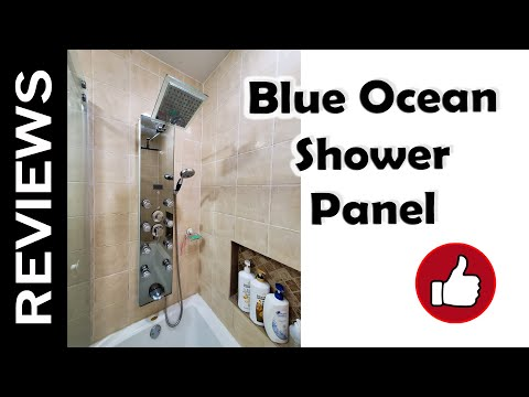 "Blue Ocean 52"" Shower Panel Tower - Review and Installation"