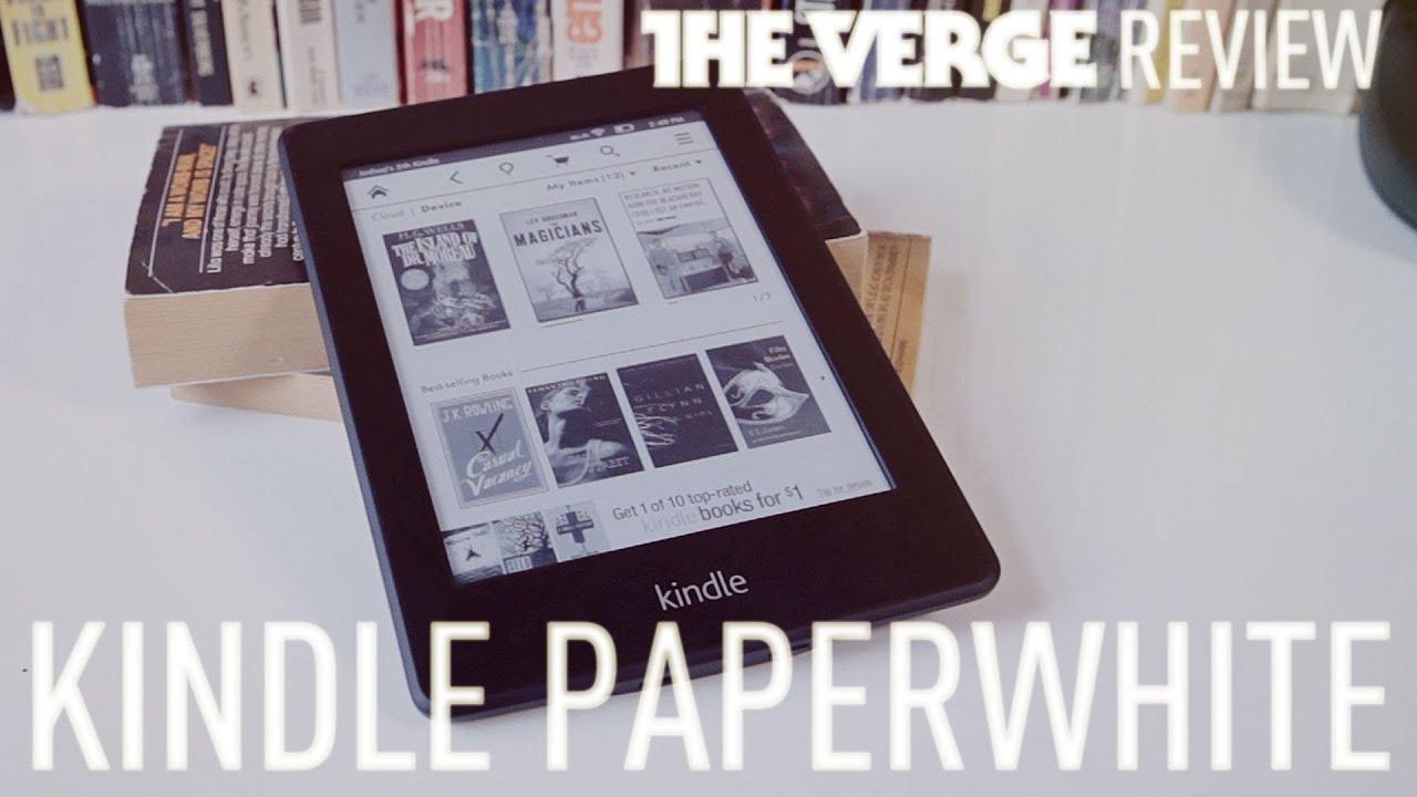 Kindle Paperwhite review thumbnail