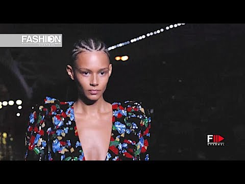 SAINT LAURENT Spring Summer 2019 Paris - Fashion Channel